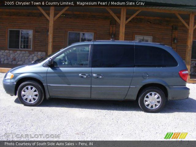 magnesium pearl 2005 chrysler town country limited medium slate gray interior gtcarlot. Black Bedroom Furniture Sets. Home Design Ideas