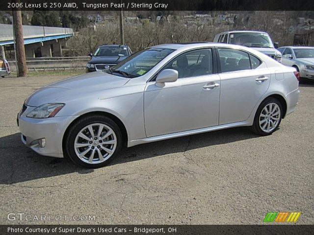 tungsten pearl 2006 lexus is 250 awd sterling gray interior vehicle archive. Black Bedroom Furniture Sets. Home Design Ideas