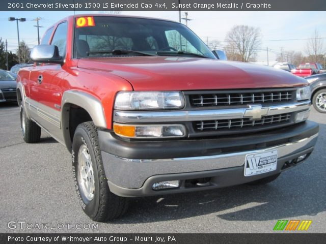 Chevrolet Silverado 1500 Ls Extended Cab 4x4 In Sunset