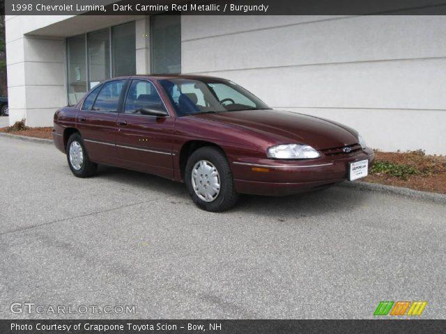 1998 Chevrolet Lumina  in Dark Carmine Red Metallic