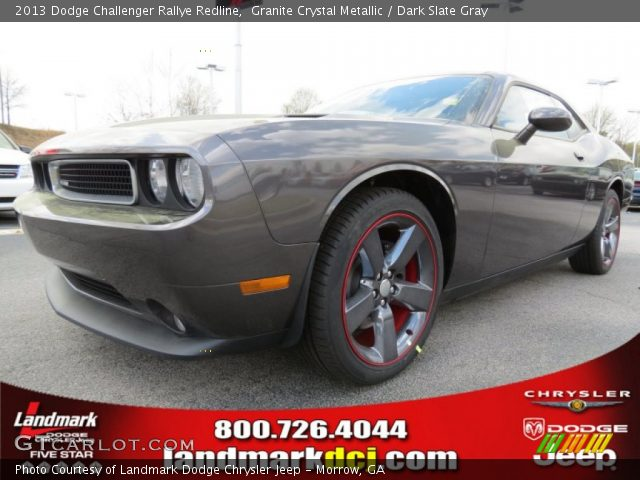 granite crystal metallic 2013 dodge challenger rallye. Black Bedroom Furniture Sets. Home Design Ideas