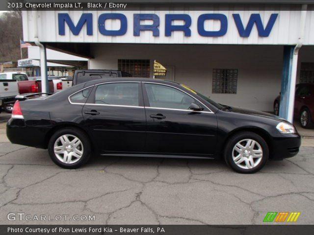 Black 2013 Chevrolet Impala Lt Ebony Interior Vehicle Archive 79463187