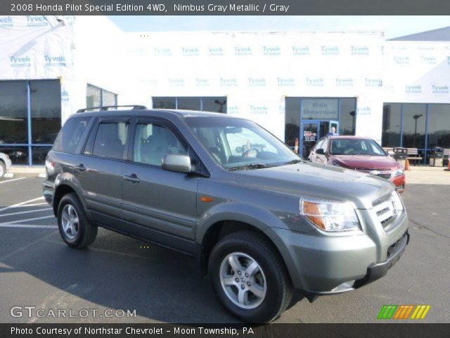 2008 Honda Pilot Special Edition 4WD in Nimbus Gray Metallic
