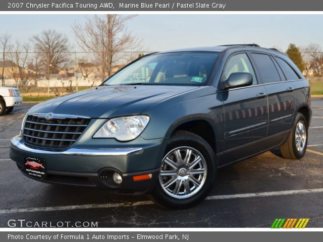 marine blue pearl 2007 chrysler pacifica touring awd. Black Bedroom Furniture Sets. Home Design Ideas