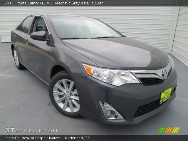 magnetic gray metallic 2013 toyota camry xle v6 ash. Black Bedroom Furniture Sets. Home Design Ideas