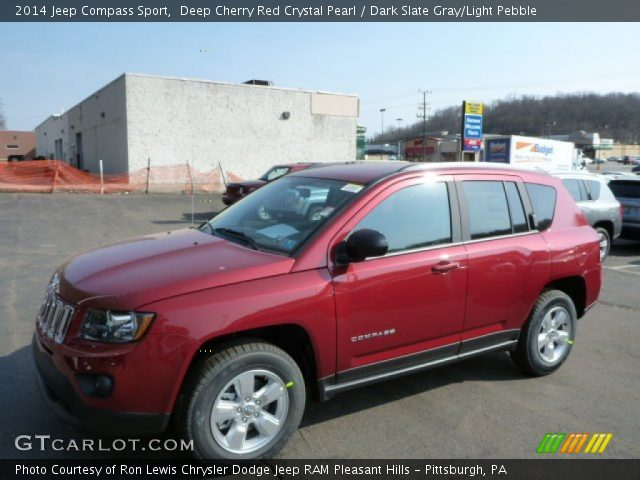 Deep cherry red crystal pearl 2014 jeep compass sport - 2016 jeep compass interior lights ...