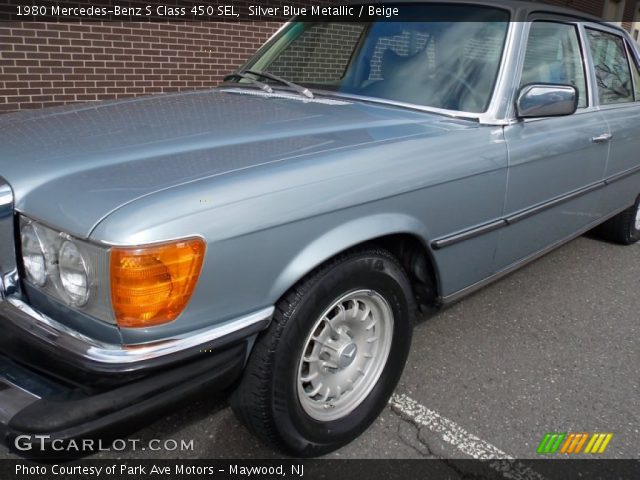 1980 Mercedes-Benz S Class 450 SEL in Silver Blue Metallic