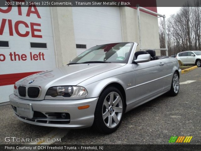 2002 BMW 3 Series 325i Convertible in Titanium Silver Metallic