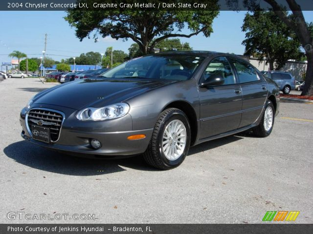 graphite gray metallic 2004 chrysler concorde lxi with dark slate gray. Cars Review. Best American Auto & Cars Review