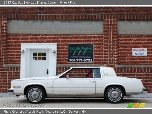 1985 Cadillac Eldorado Biarritz Coupe in White