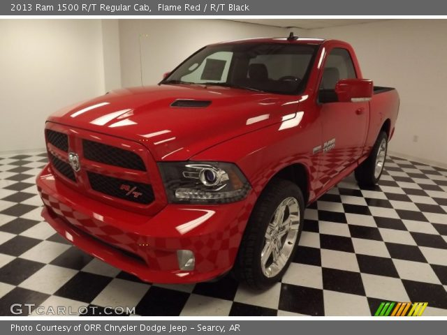 2013 Ram 1500 R/T Regular Cab in Flame Red