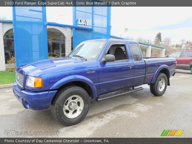 2003 ranger edge supercab 4x4 sonic blue metallic dark graphite car interior design. Black Bedroom Furniture Sets. Home Design Ideas