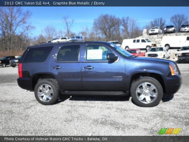 2013 GMC Yukon SLE 4x4 in Graphite Blue Metallic
