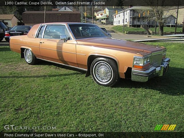 1980 Cadillac Coupe DeVille  in Desert Sand Firemist