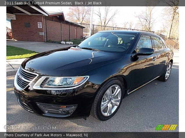 black 2011 saab 9 5 turbo4 premium sedan jet black. Black Bedroom Furniture Sets. Home Design Ideas