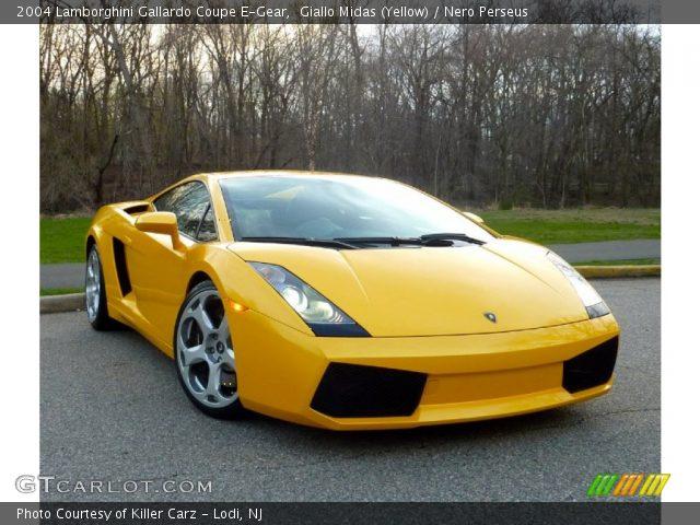 2004 Lamborghini Gallardo Coupe E-Gear in Giallo Midas (Yellow)