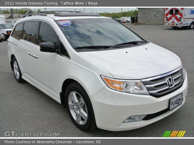 taffeta white 2012 honda odyssey touring beige. Black Bedroom Furniture Sets. Home Design Ideas