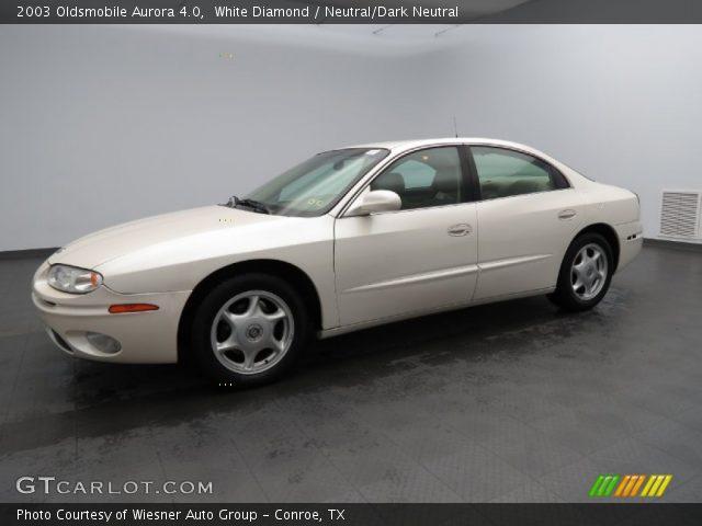 2003 Oldsmobile Aurora 4.0 in White Diamond