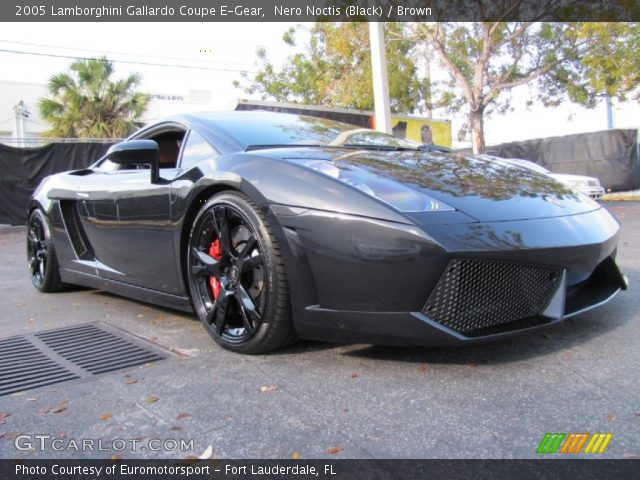 2005 Lamborghini Gallardo Coupe E-Gear in Nero Noctis (Black)