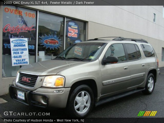 pewter metallic 2003 gmc envoy xl slt 4x4 dark pewter. Black Bedroom Furniture Sets. Home Design Ideas