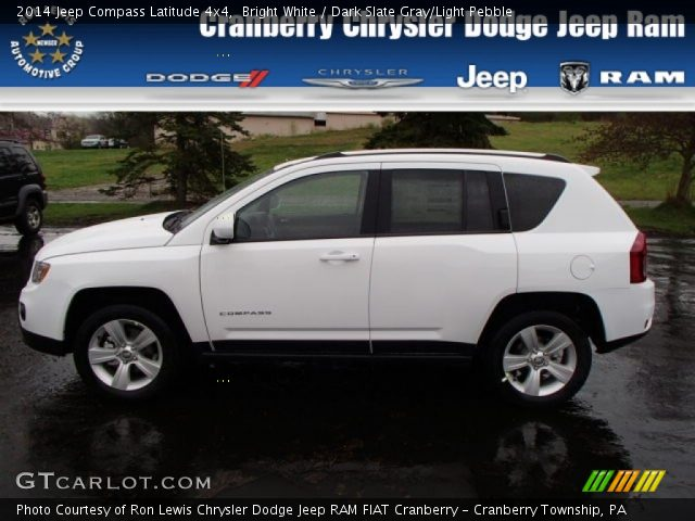 2014 Jeep Compass Latitude 4x4 in Bright White