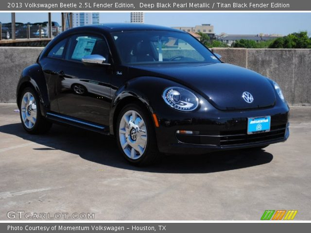 deep black pearl metallic 2013 volkswagen beetle 2 5l. Black Bedroom Furniture Sets. Home Design Ideas