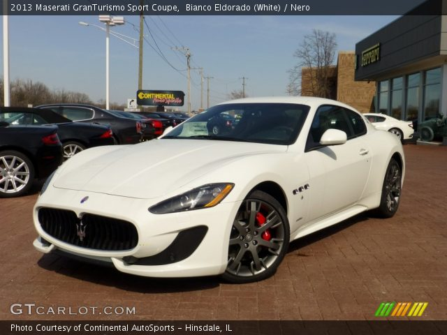 Bianco Eldorado (White) 2013 Maserati GranTurismo Sport Coupe with ...