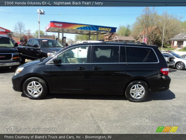 nighthawk black pearl 2006 honda odyssey ex l ivory. Black Bedroom Furniture Sets. Home Design Ideas