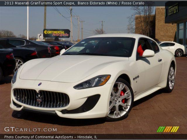 Maserati granturismo sport white - photo#6