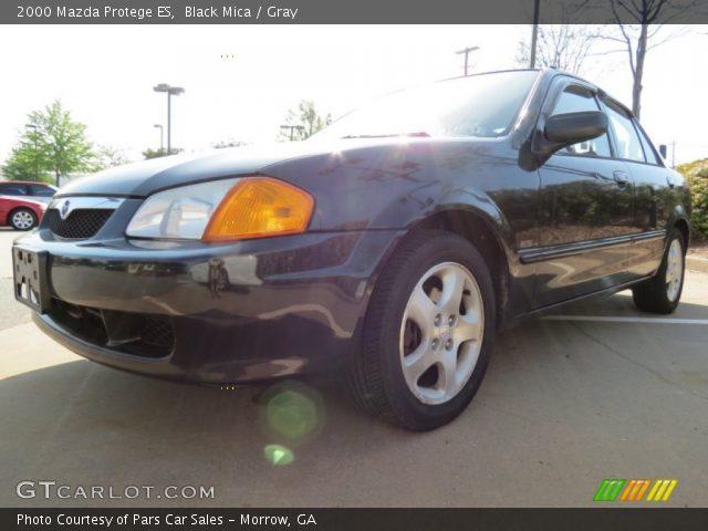 2000 Mazda Protege ES in Black Mica
