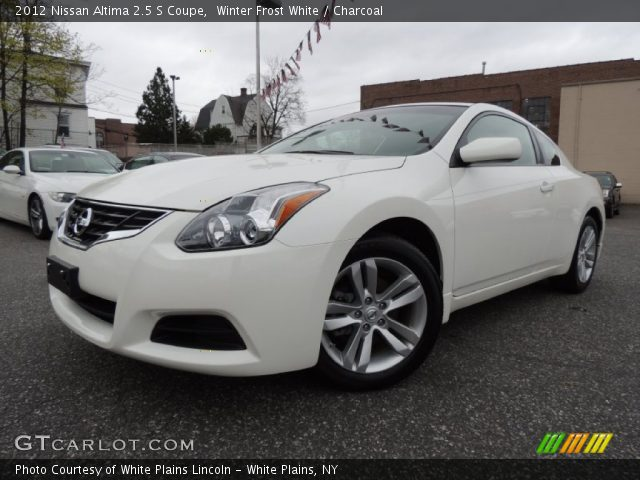winter frost white 2012 nissan altima 2 5 s coupe. Black Bedroom Furniture Sets. Home Design Ideas