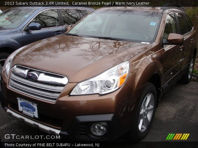 caramel bronze pearl 2013 subaru outback 3 6r limited warm ivory leather interior gtcarlot. Black Bedroom Furniture Sets. Home Design Ideas