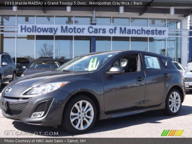 metropolitan gray mica 2010 mazda mazda3 s grand touring. Black Bedroom Furniture Sets. Home Design Ideas