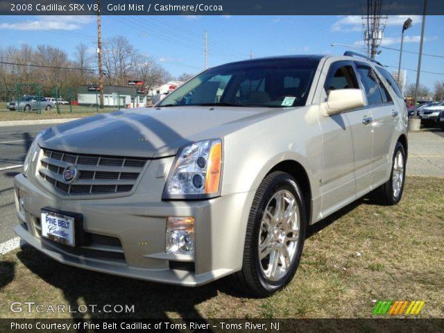 2008 Cadillac SRX V8 in Gold Mist