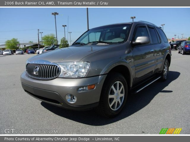 2006 Buick Rainier CXL AWD in Titanium Gray Metallic