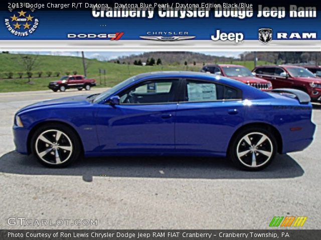 2013 Dodge Charger R/T Daytona in Daytona Blue Pearl