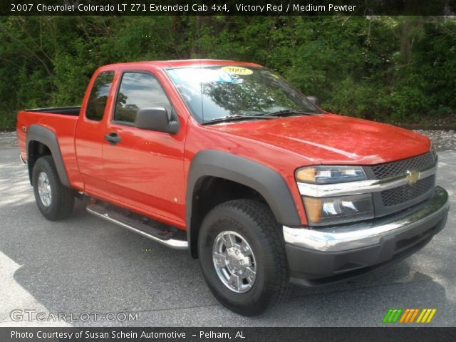 victory red 2007 chevrolet colorado lt z71 extended cab. Black Bedroom Furniture Sets. Home Design Ideas
