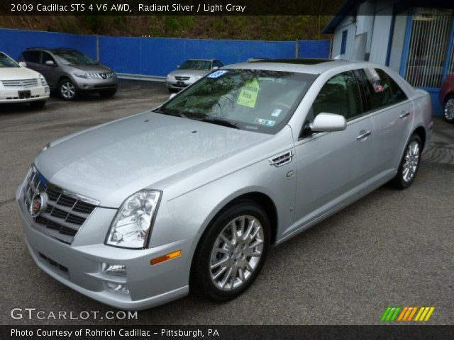 2009 Cadillac STS 4 V6 AWD in Radiant Silver
