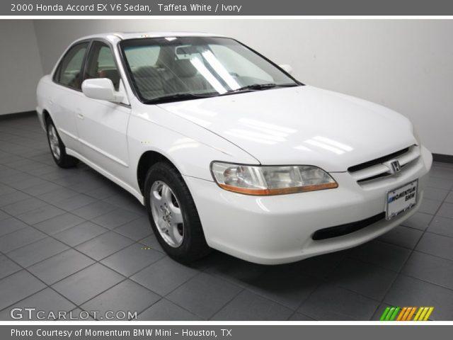 taffeta white 2000 honda accord ex v6 sedan ivory interior vehicle archive. Black Bedroom Furniture Sets. Home Design Ideas