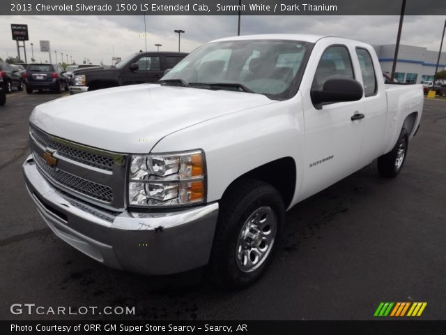 2013 Chevrolet Silverado 1500 LS Extended Cab in Summit White