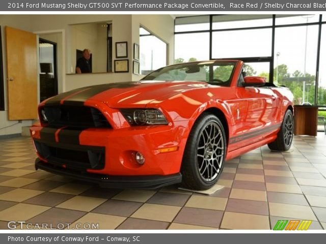 race red 2014 ford mustang shelby gt500 svt performance package convertible shelby charcoal. Black Bedroom Furniture Sets. Home Design Ideas