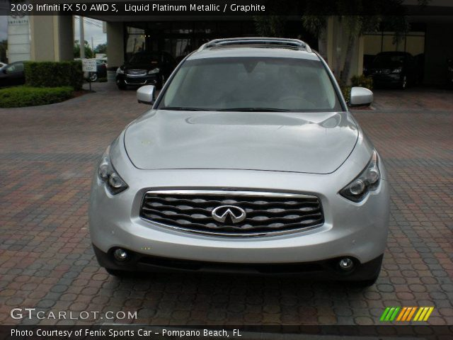 2009 Infiniti FX 50 AWD S in Liquid Platinum Metallic