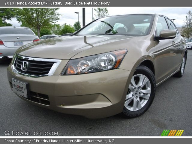 bold beige metallic 2010 honda accord lx p sedan ivory. Black Bedroom Furniture Sets. Home Design Ideas