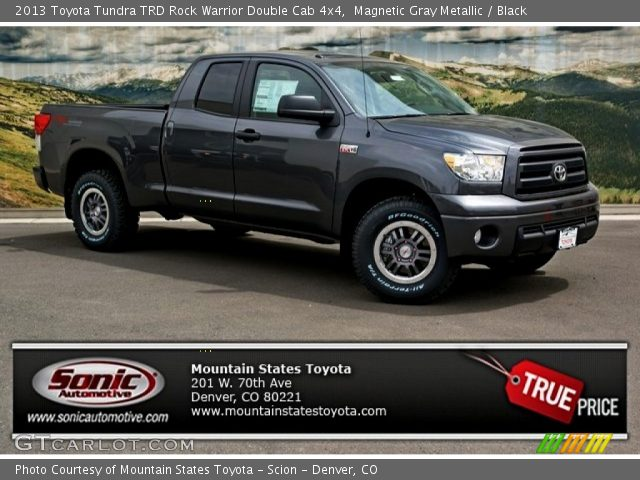 magnetic gray metallic 2013 toyota tundra trd rock. Black Bedroom Furniture Sets. Home Design Ideas