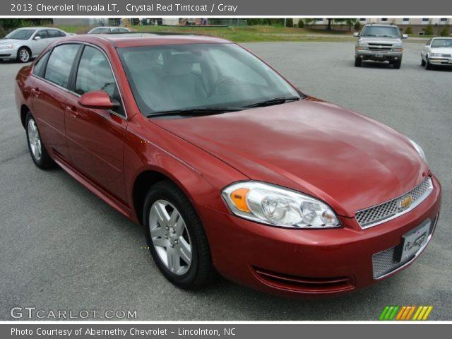 Crystal Red Tintcoat 2013 Chevrolet Impala Lt Gray Interior Vehicle Archive
