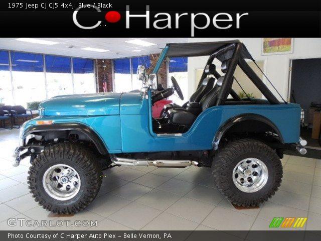 1975 Jeep CJ CJ5 4x4 in Blue
