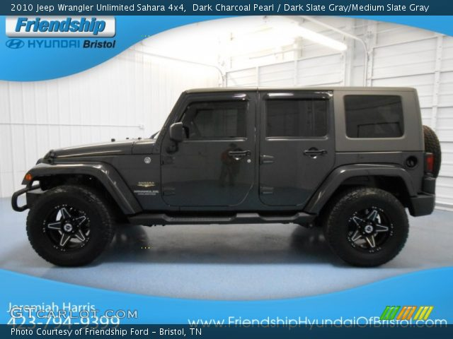 Dark Charcoal Jeep Wrangler