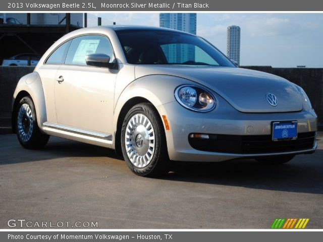 moonrock silver metallic 2013 volkswagen beetle 2 5l. Black Bedroom Furniture Sets. Home Design Ideas