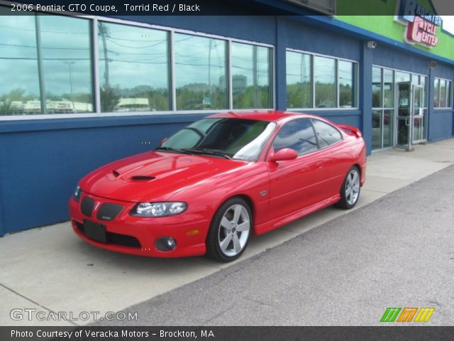 2006 Pontiac GTO Coupe in Torrid Red
