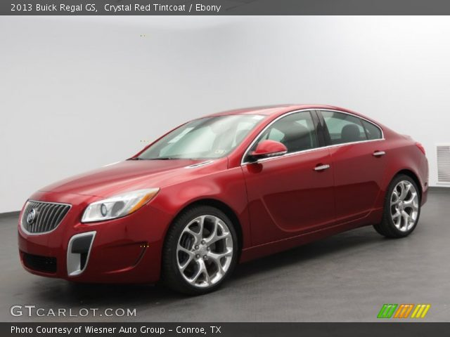 crystal red tintcoat 2013 buick regal gs ebony interior vehicle archive. Black Bedroom Furniture Sets. Home Design Ideas